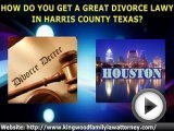 Harris County Texas Divorce Family Lawyer