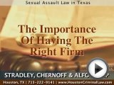 Houston, Texas Sex Offense Lawyers
